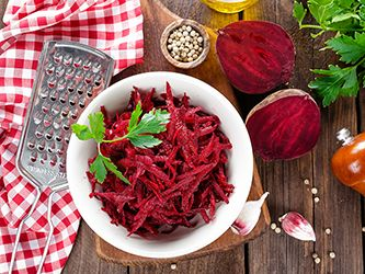 Garlic-Flavored Roasted Beets
