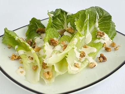 Romaine Salad with Blue Cheese