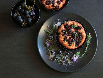 Focaccia (schiacciata) aux raisins