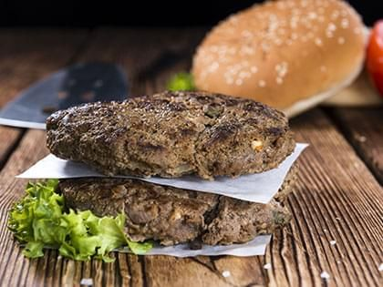 Hamburger with Herbs