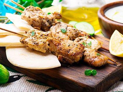 Souvlaki de poulet