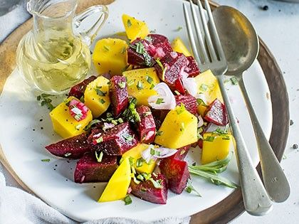 Beet Salad with Mango