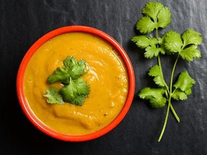 Cold Sweet Potato Soup