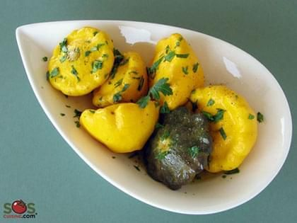 Greek-Style Pattypan Squash