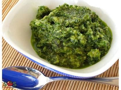 Roasted Garlic and Basil Sauce