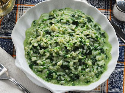 "Green ""Wave"" Risotto"
