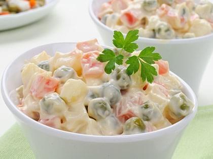 Salade russe à l'italienne