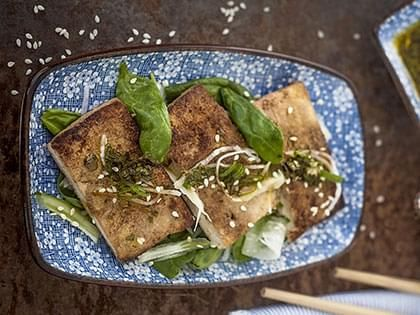 Bistecche di tofu