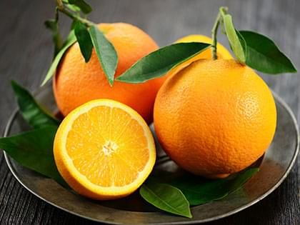 Oranges nature
