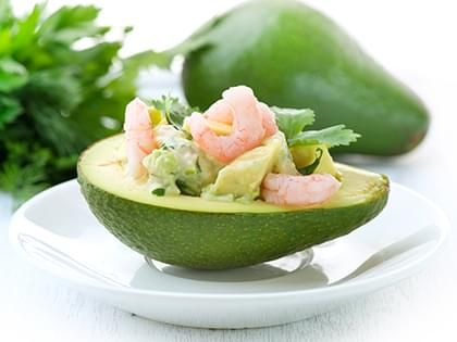 Avocado with Shrimp
