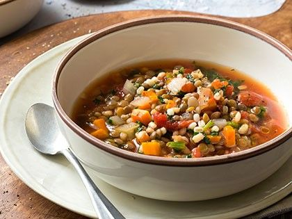 Barley and Lentil Soup