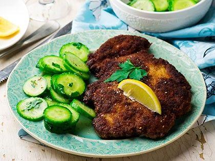 Pork Cutlets Viennese