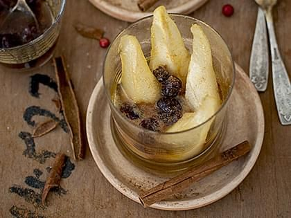 Pear and Cranberry Compote