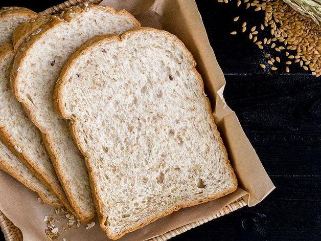 Pain, blé entier (2 tranches)