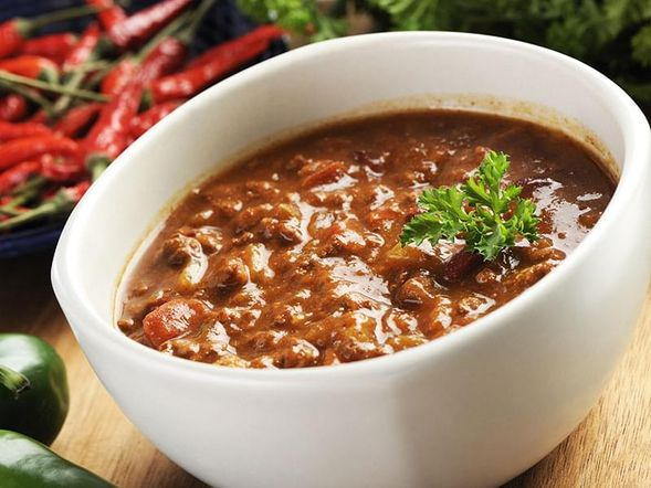 Chili con Carne (from dried beans)