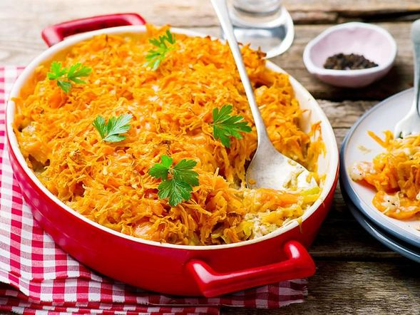 Chicken and Sweet Potato Bake