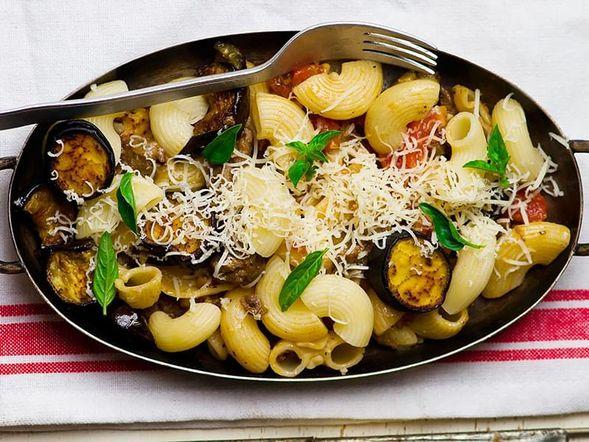 Pasta with Aubergines