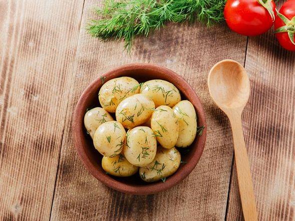 Microwaved New Potatoes