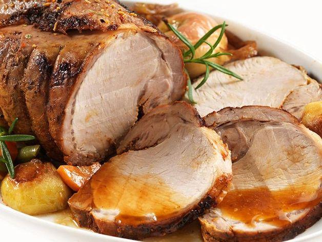 Braised Pork Roast with Vegetables