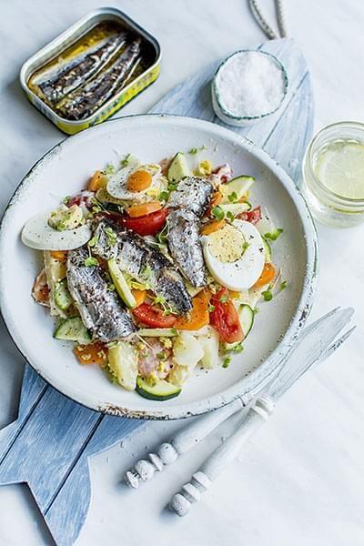 Genoa Salad with Sardines