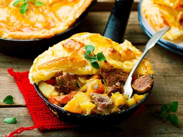 Veal Stew in Pastry