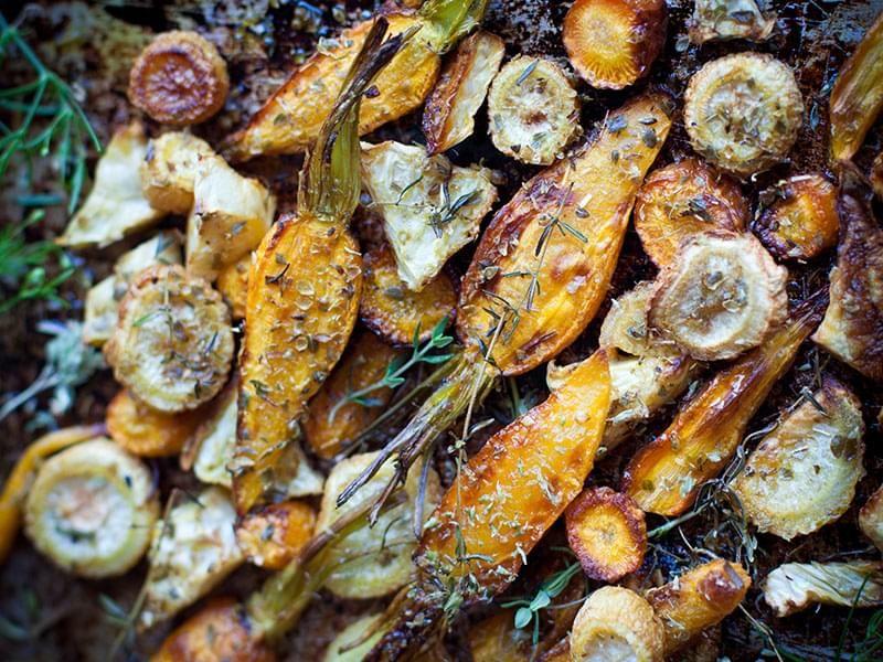 Légumes rôtis à la grecque