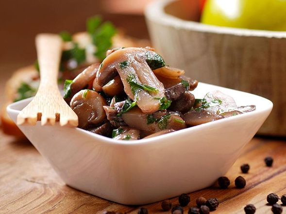 Sautéed Mushrooms with Shallot