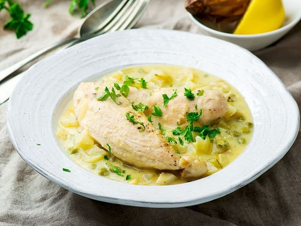 Roman-Style Chicken Breast