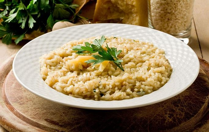 Cheesy Risotto