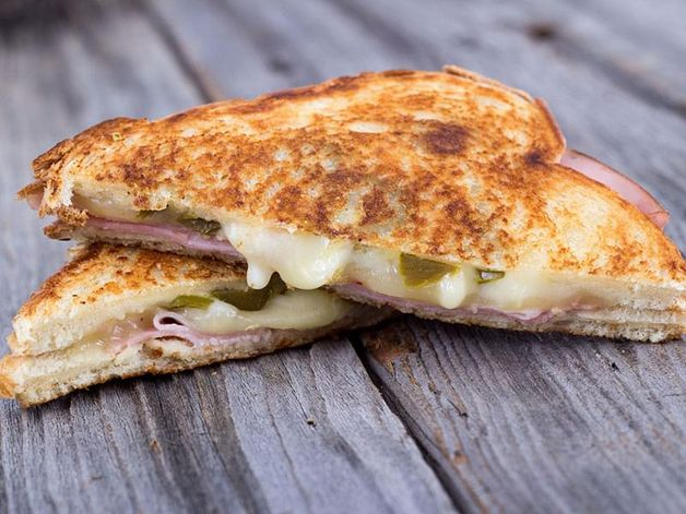 Sandwich jambon fromage