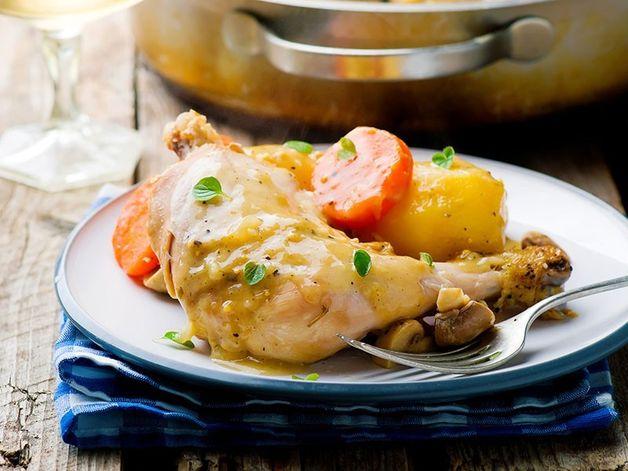 Braised Chicken with Vegetables