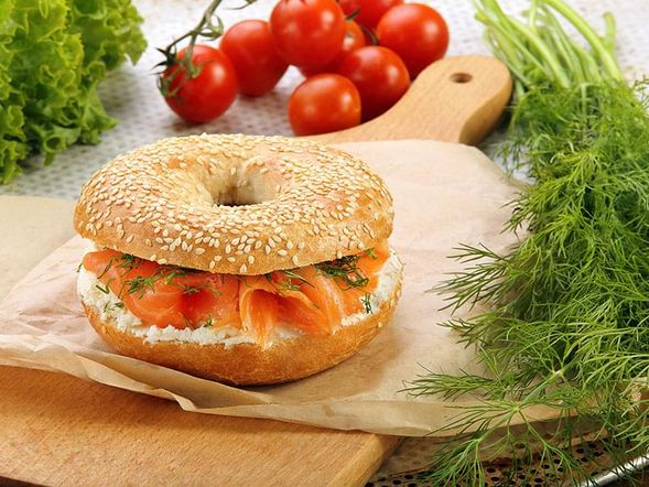 Bagel and Smoked Salmon
