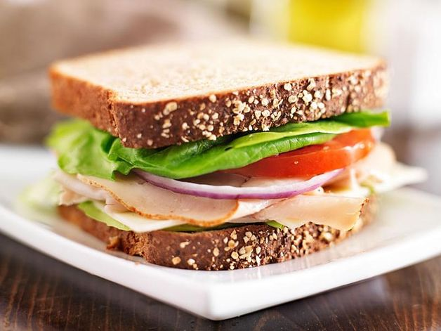 Sandwich dinde fromage