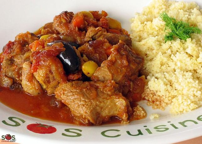 Goat Tagine with Fennel