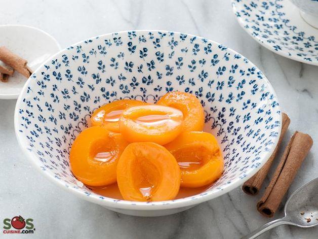 Cinnamon-Flavoured Apricot Compote