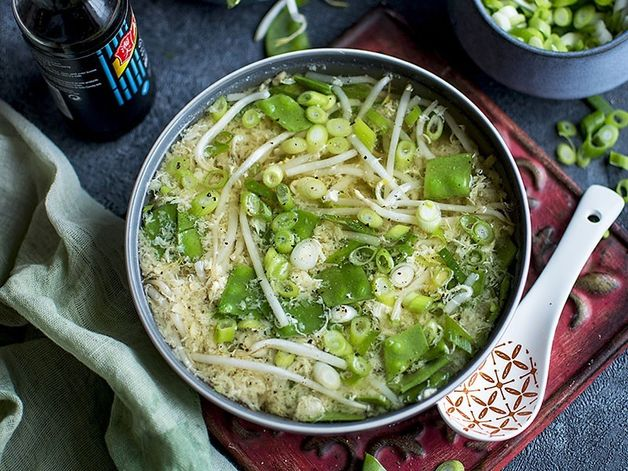 Asian Egg-Drop Soup