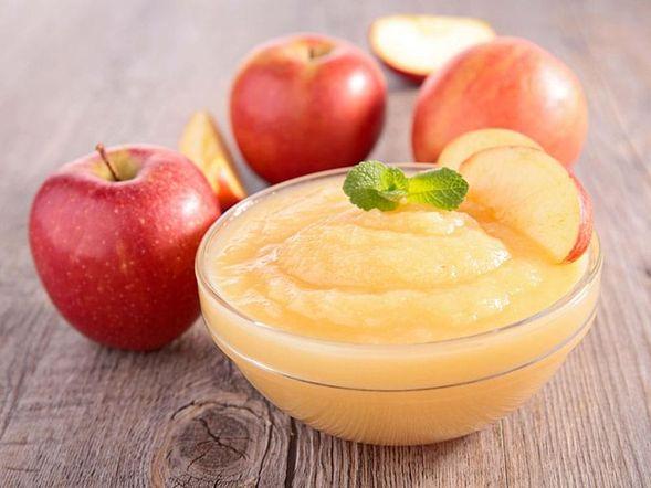 Purea di mele senza zucchero