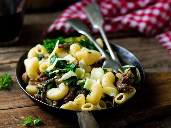 Farfalle (Bow Tie) with Sausage