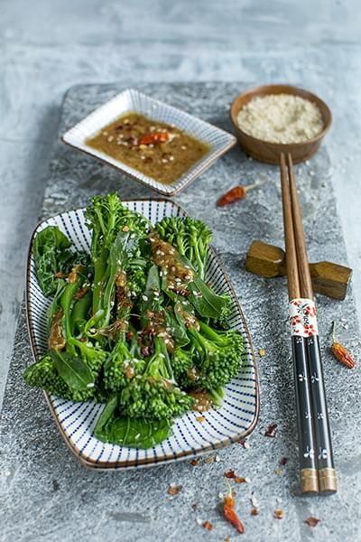 Broccolo cinese saltato
