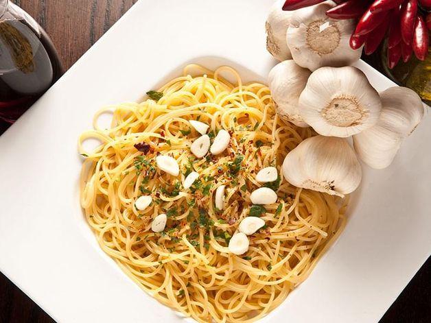 Spaghetti piquants de fin de soirée