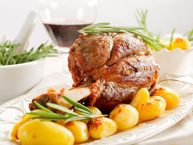 Veal Shank in Muscat Wine