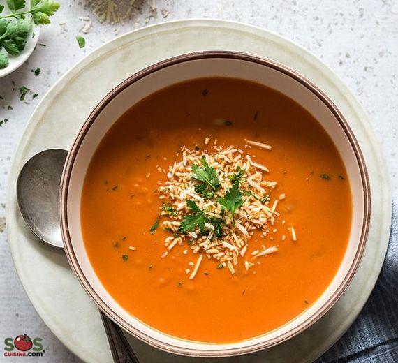 Zuppa toscana di fagioli e farro
