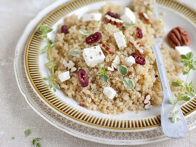 Quinoa, Pecan and Cranberry Salad