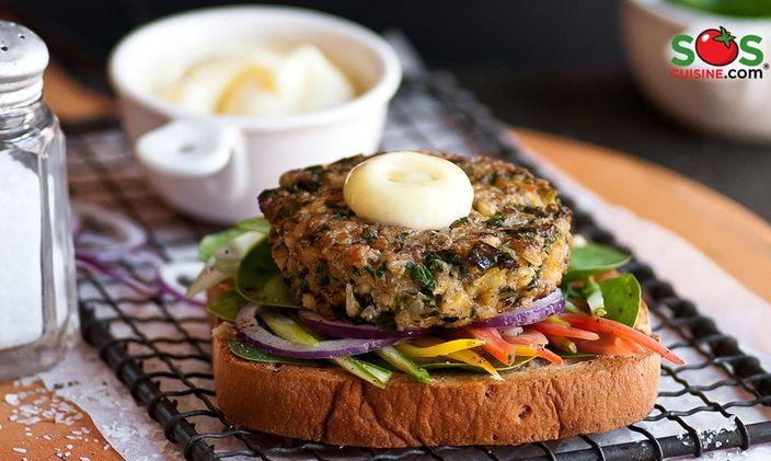Hamburger di tofu