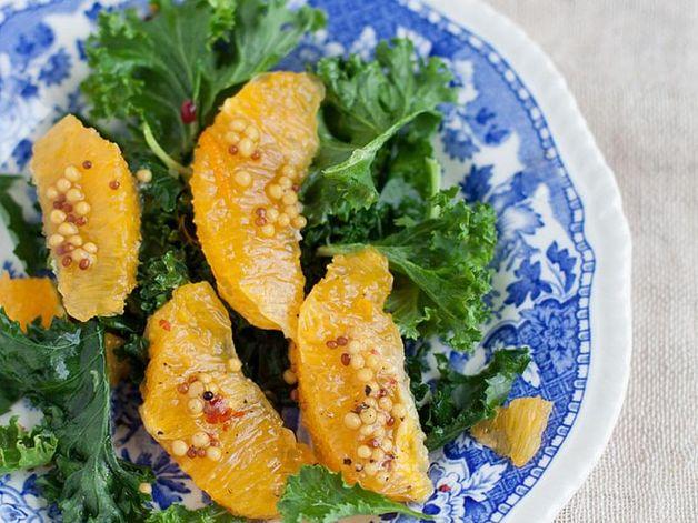 Salade de kale et oranges