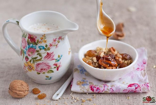 Quinoa profumata alla cannella
