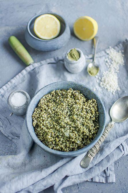 Green Tea Risotto