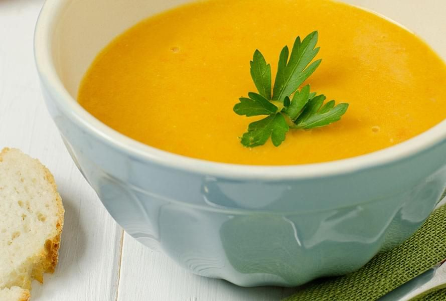 Carrot Soup with Orange and Ginger
