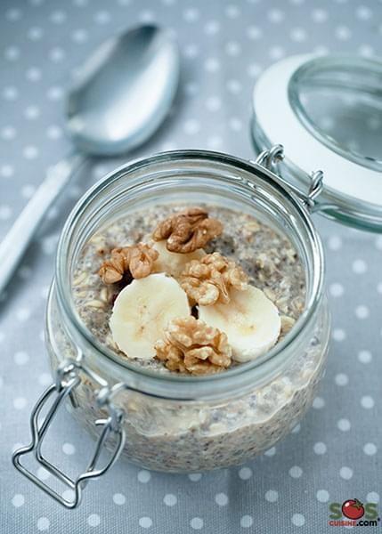 Porridge di avena senza cottura
