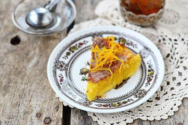 Flour Low-FODMAP Diet lemon polenta